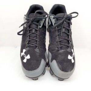 Mens Under Armour Leadoff Low Baseball Cleats Size